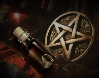WICCA Ritual Oil,  Potion, Elixir, Anointing Oil, Initiation Oil, Spell Oil, Dedication Oil, Wicca, Witchcraft, Hoodoo, Pagan, Beach Witch