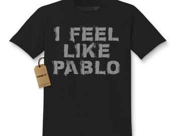 Kid's I Feel Like Pablo Shirt Printed Youth 2016 Hip Hop Album T-shirt #1270 By Expression Tees Trending Clothing / Apparel Usa Seller