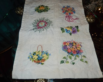TABLE RUNNER or DRESSER Scarf