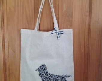 Sausage dog  shopping bag