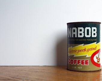 Vintage Rusty Nabob Can