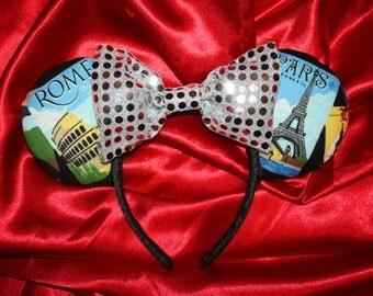World Traveler Mouse Ears Headband