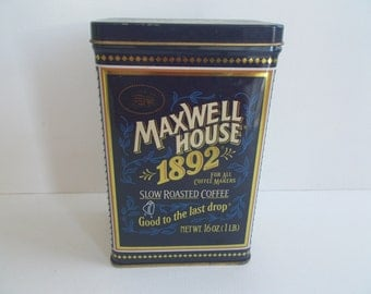 Maxwell House 100 Year Collectible Anniversary Tin