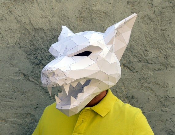 Make Your Own Werewolf Mask. | Papercraft Werewolf | Halloween ...