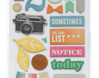 25 % Off! Amy Tangerine Cut and Paste Thickers Stickers| Planners • Scrapbooking • Bible Journaling