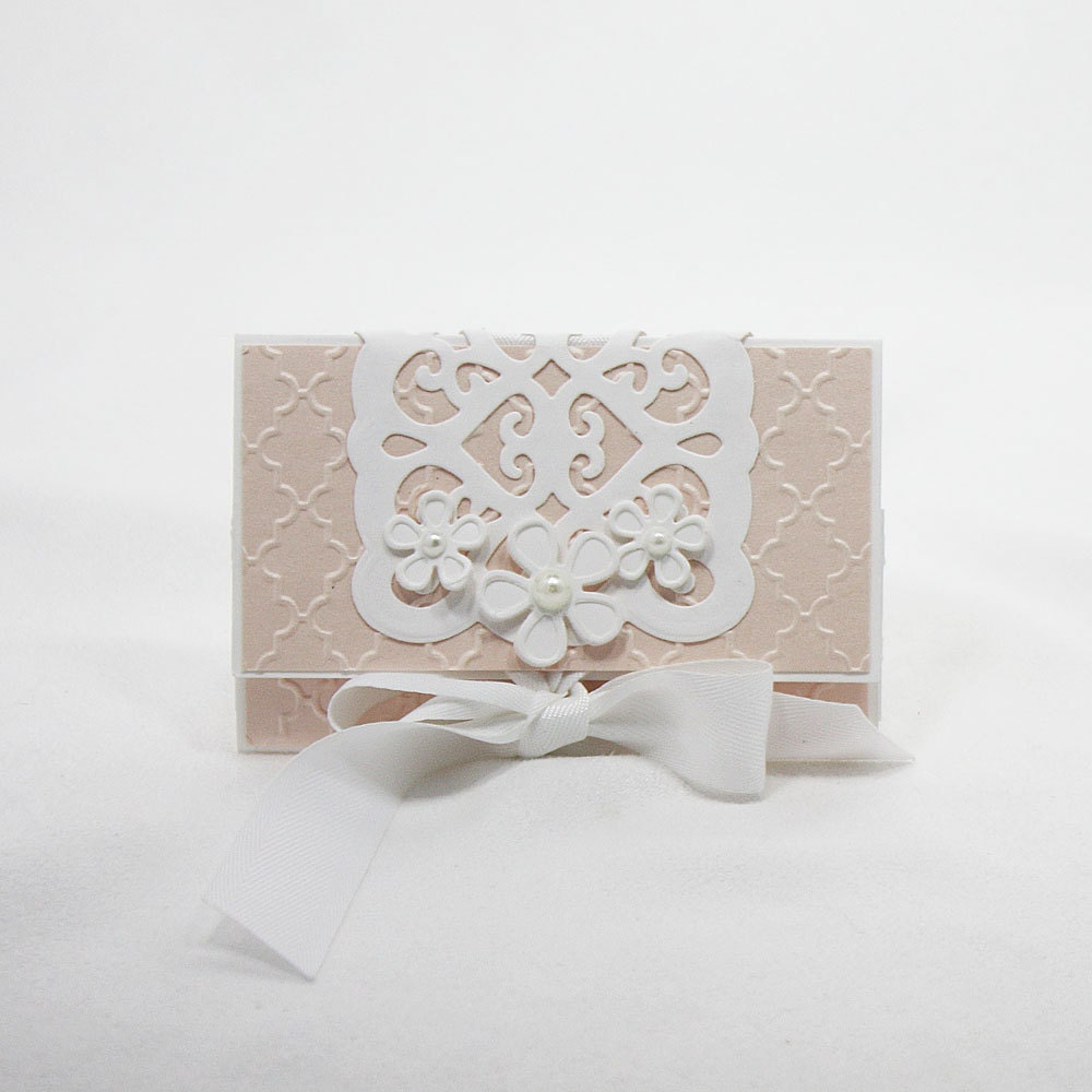 Gift Card Holder Wedding Gifts Display by SilverWhiteCardShop