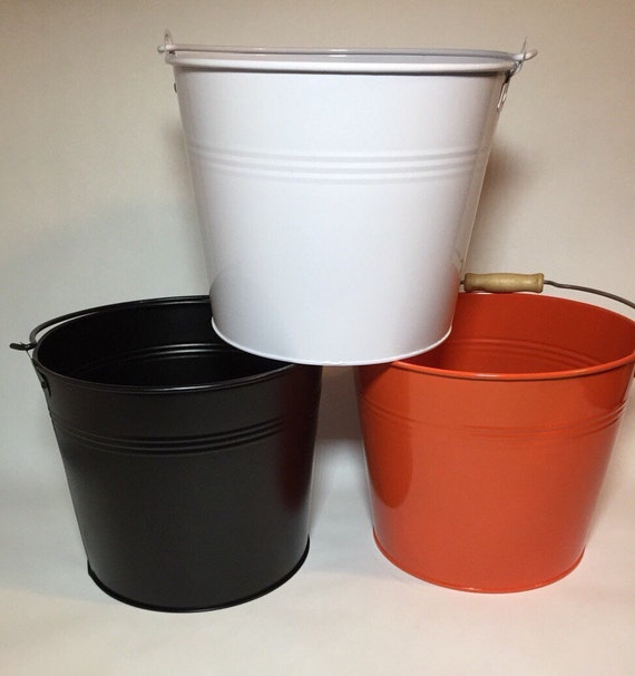 Painted Metal Pails