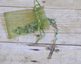 Classic Green Rosary