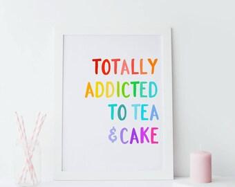 Tea & Cake Print