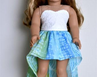 High Low Skirt American girl doll