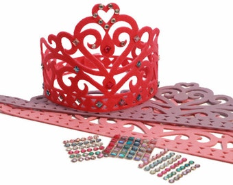 Princess Birthday Party Crown/Tiara Craft Activity Kit
