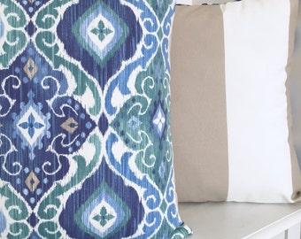 Fiesta stripe indoor/outdoor cushion cover