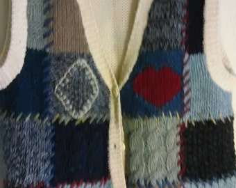 Retro Sweater Vest