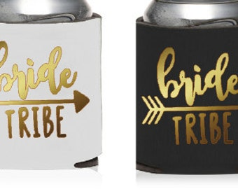 Bride Tribe KOOZIES,Design Your Own KOOZIE® or Can Holder, Custom KOOZIE® , Personalized Can Holders