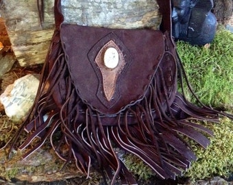 Fossil stone purse/handbag/shoulder bag