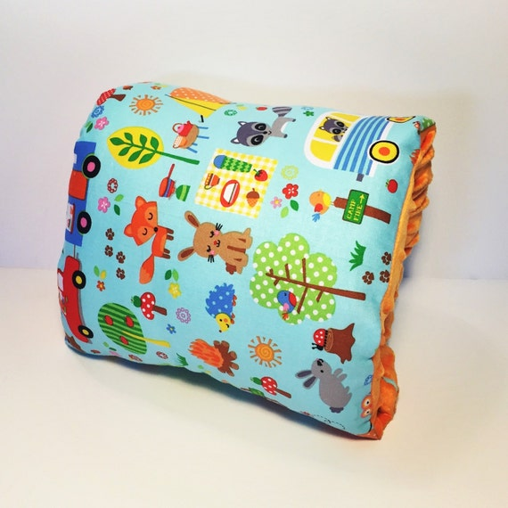 Campout Fabric Nursing Pillow Tula S Mores By