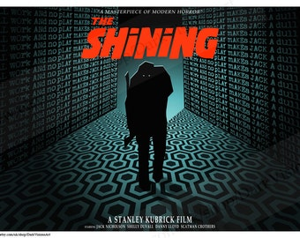 The Shining Poster Art Print - Stanley Kubrick