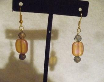 Light side of the moon earrings