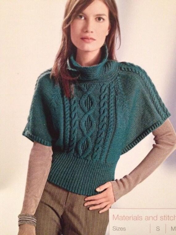 Easy Batwing Jumper Knitting Pattern : Ladies Knitted Batwing Sweater Knitting Pattern