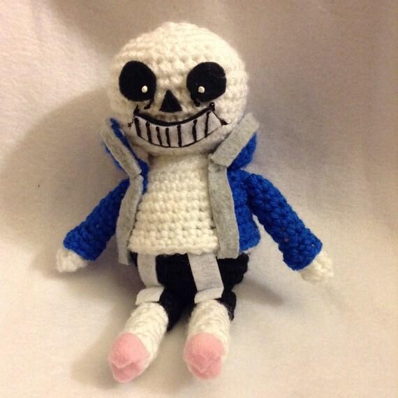 Undertale Amigurumi Pattern : Crochet Sans from Undertale Amigurumi