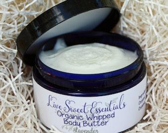 Handmade Organic Whipped Body Butter