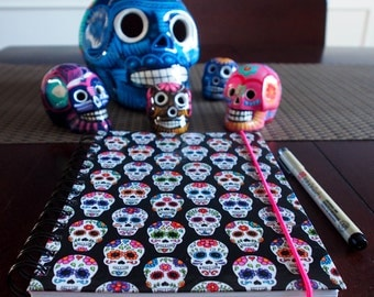 Skull (Calacas) Notebooks: