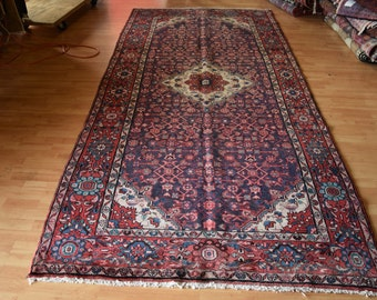 Antique Persian Bakhtiyari rug