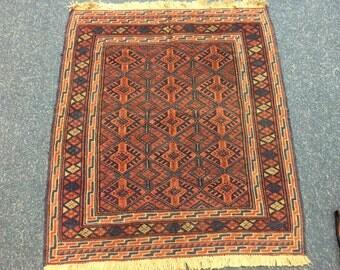 Mushwani Tribal rug kilim