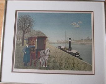 Jan Balet Lithograph Print