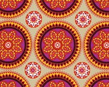 Solara Sunset - Ty Pennington Impressions - Freespirit medallionfloral circle fabric quilting fabric