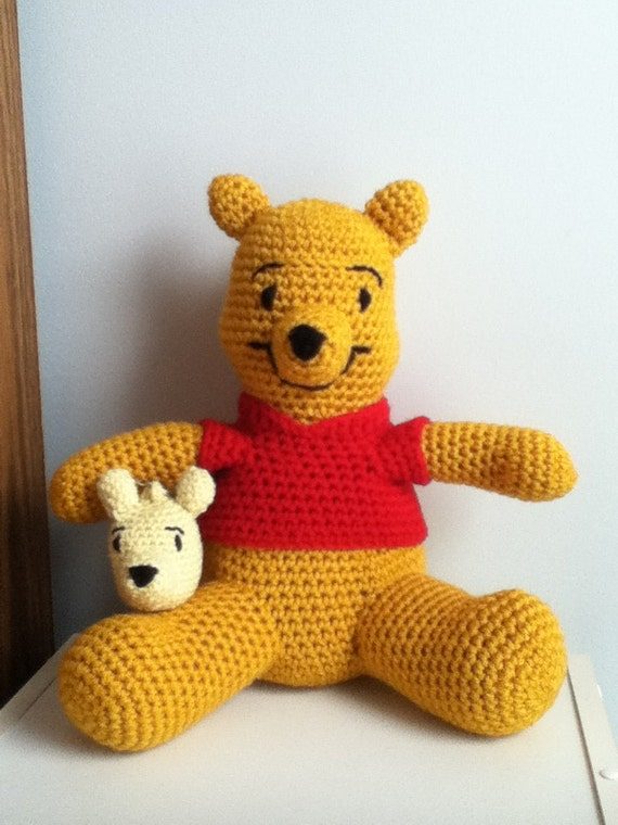 Crochet Amigurumi Eeyore : Crochet Amigurumi Winnie the Pooh Inspired by ...
