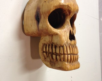 blonde skull