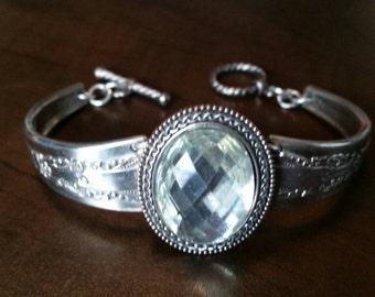Big Diamond Spoon Bracelet