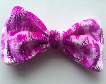 Pink Cheetah Bow