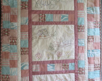 Baby Quilt - Grow Wise