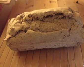 Gluten Free, Vegan, Yeast Free Bread