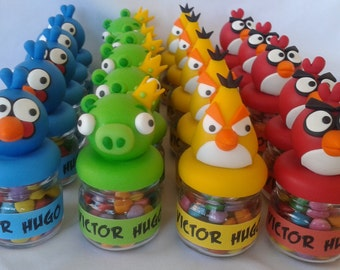 Angry Birds Glass Containers
