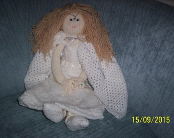 Hand-Knitted Galadriel Doll