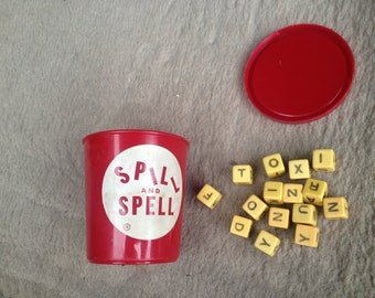 Spill and Spell Word Dice Game