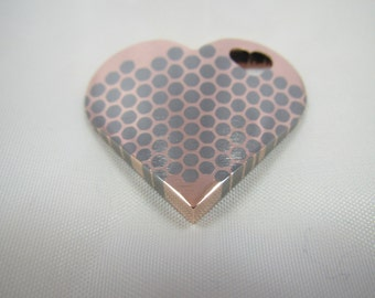Heart Pendant - Charm Superconductor