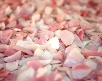 Rose Opaque Color Small Sea Glass (1 Pound Bag) (EA)