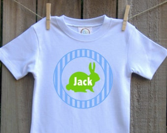 custom personalized easter bunny shirt monogrammed vinyl