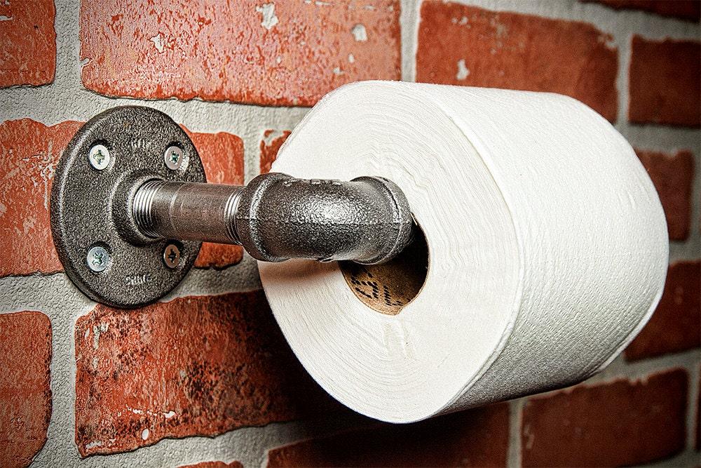 ferme pipe rouleau de papier toilette porte porte papier. Black Bedroom Furniture Sets. Home Design Ideas