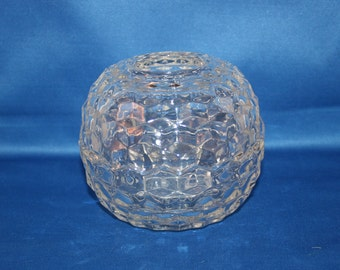Vintage Home Interiors Night Light 3 piece Globe Votive Candle Holder 1140-BD Tealight Holder