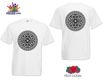 """Yin & Yang   - Fruit of the Loom® T-Shirt """"Men Valueweight T"""" / """"Heavy Cotton T""""  in different colors!"""