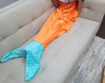 Mermaid Tail Blanket for teens and beyond