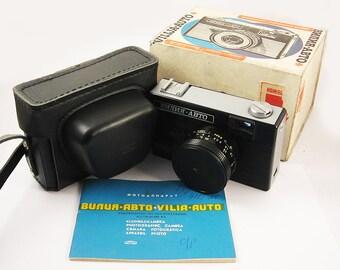 VILIA AVTO Russian 35mm Camera Produced by BeLomo Box NEW