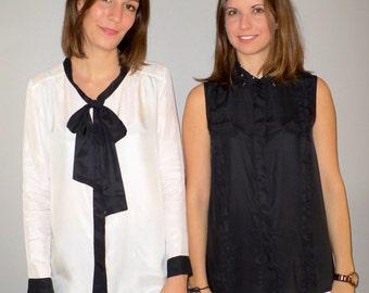 Model JOANNA - shirt 100% silk