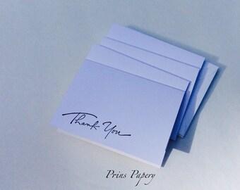 Wedding Thank You Mini Note Cards Set 20
