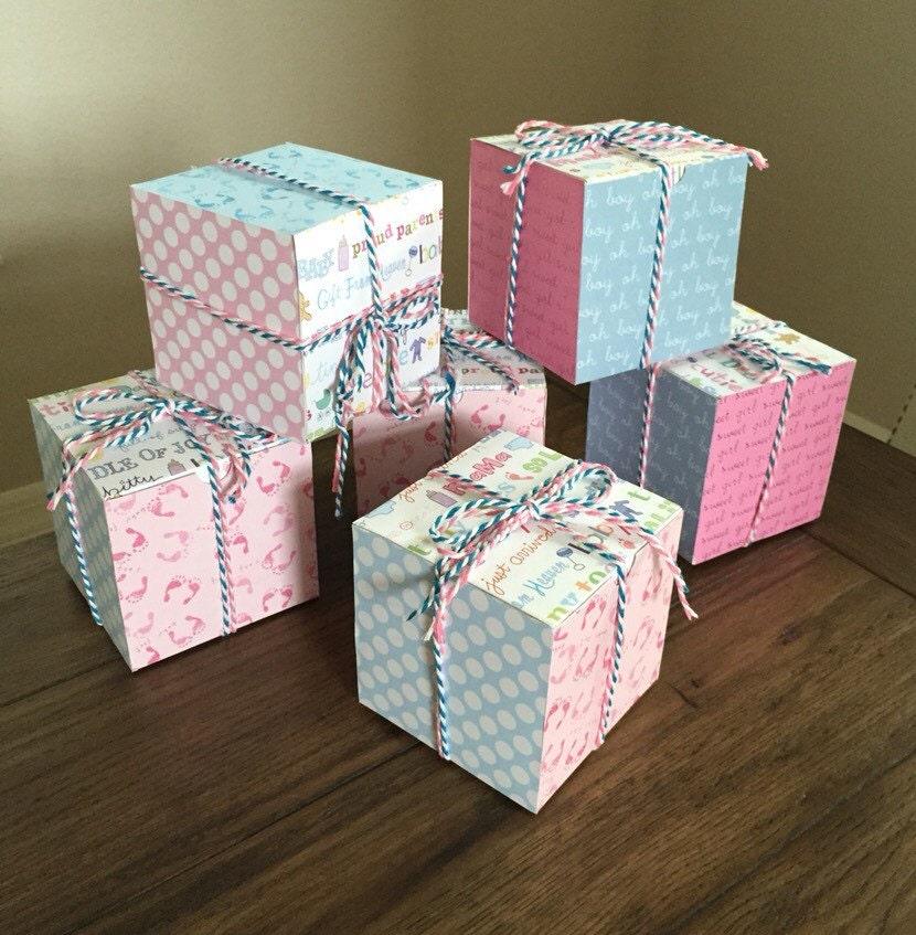 Baby Gender Reveal Box Custom Baby Gender Announcement Box – Baby Announcement Boxes